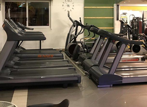 Αίθουσα Cardio Theatre στο Γυμναστήριο