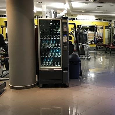 Αυτόματοι Πωλητές στο Γυμναστήριο